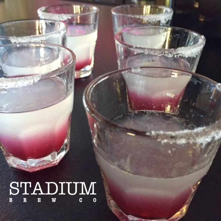 It's finally Friday and we have a Holiday Weekend among us. Great reason to visit SBC for some good times with loved ones. Join us for Lunch, Dinner, Happy Hour or just because we are awesome. #GreatFood #GoodService #BlueberryLemonDrops #AlisoViejo #StadiumBrewCo
