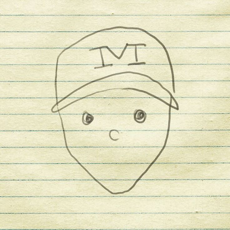 Eye-witnesses in Pasadena California believe an infamous #Harbaugh to have taken up residence in a tree near the home of 4-star cornerback recruit David Long. Mysteriously enough the character only appears at night. This amateur sketch was provided by an onlooker.  Look familiar? #mobile #alabama #crichtonleprechaun #leprechaun #jimharbaugh #coachharbaugh #michigan #football #recruiting #davidlong #michiganfootball #goblue