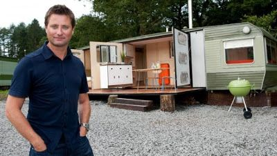 George clarke 39 s amazing spaces series 1 fantastic renovation of a 70s static caravan caravan - George small spaces collection ...