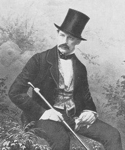 Herzog Max in Bayern (1808-1888), Sohn von Herzog Pius August in Bayern und Prinzessin  Amalie Luise von Arenberg