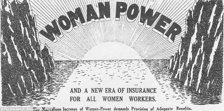An advert for Woman Power Insurance (Eagle Star & British Dominions Insurance) in The Landswoman (No 7, Vol 1) in July 1918. The advert said woman power throughout the British Empire stood out dominantly as the most wonderful feature of the war