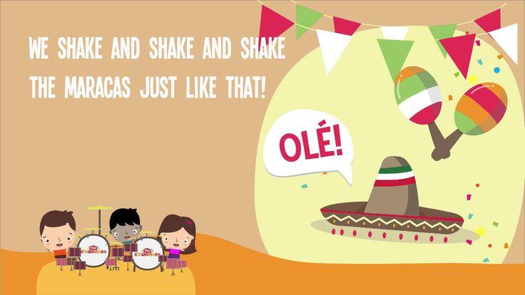 Cinco de Mayo song for the PreK classroom!  #cincodemayo #prek #kidsmusic