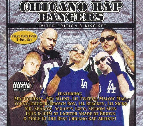 Chicano Rap Bangers [CD] [PA]