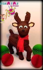 Resultado de imagen para piñata de reno