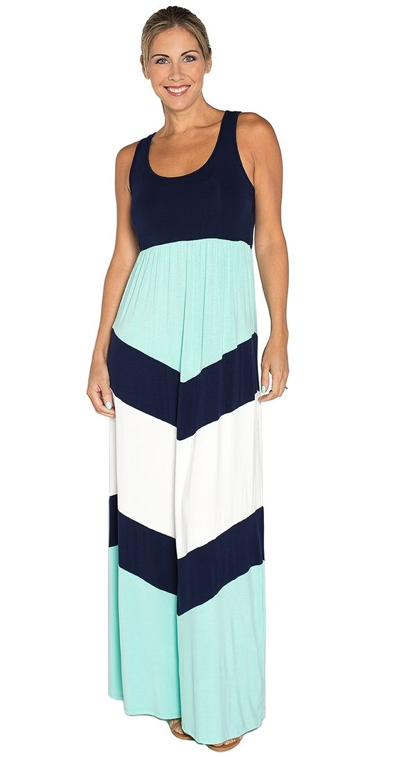 To the Point Maxi Dress