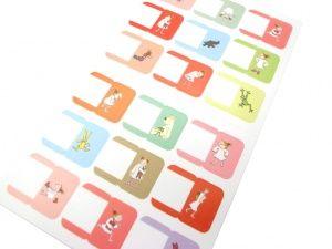 画像1: COCOちゃんインデックスシール index stickers