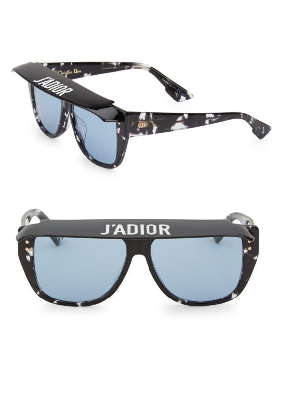 882df782d3f Óculos de Sol Dior™ – J ADIOR Club2 Visor – Havana Black – Lente Azul