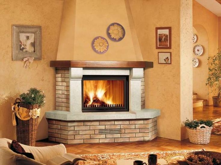 Colori per caminetto pp71 pineglen for Idee camini moderni