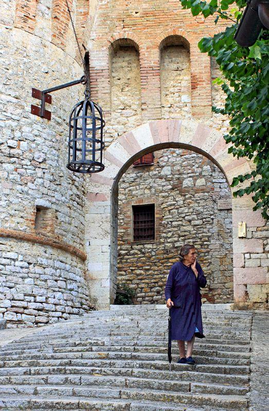 Porta Santa Maria in Corciano, Perugia in Umbrie, Italie (Umbria, Italy) | www.regioneumbria.eu