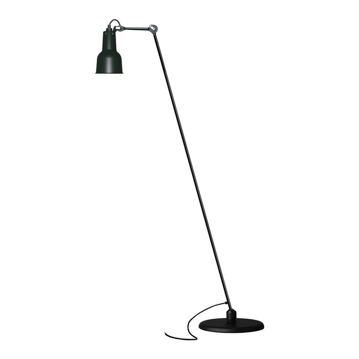 La Lampe Gras - DCW No 230 Floor Lamp - Black Satin   Houseology