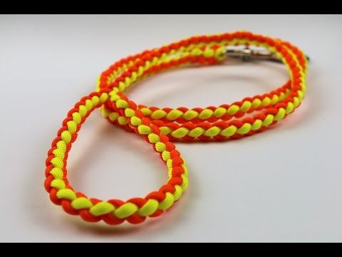 """How to Tie a Four Strand Round Braid by TIAT (""""The Easy Way"""") - YouTube"""