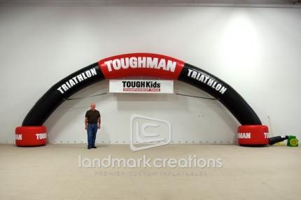 TOUGH Kids Triathlon Race Arch #running #triathlon #health #archways