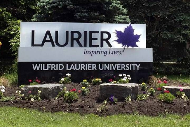 Wilfrid Laurier University campus in Waterloo, Ont. on lockdown