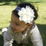 beautiful lace headband! for kiddies older than 4 months. R100.