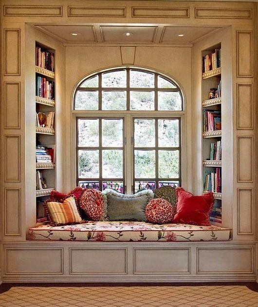 #windowseat - I've always been a sucker for a window seat