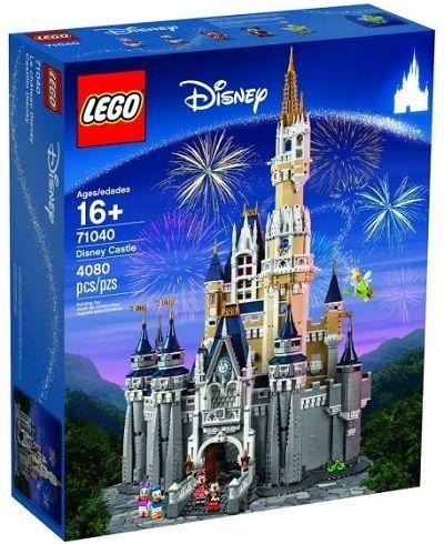 Lego : Jeu de construction Le château de Disney 4080 pièces