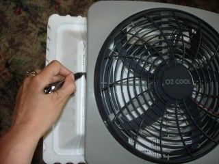 My Life - Tutorial - How to make a tent air conditioner for under $20
