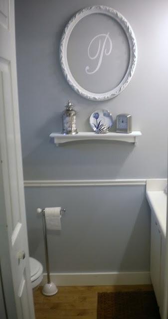 Bathroom Decor Frames : Decorating a bathroom inspiration grey framed