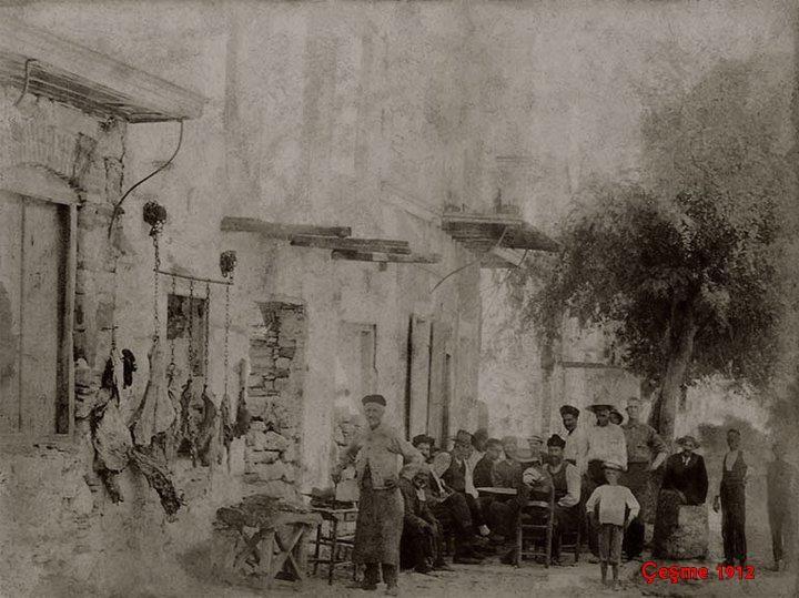 A butcher.  Cesme 1912