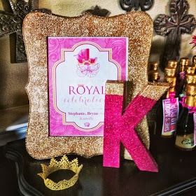 Pink, Glitter & Gold Baby Shower!  Mine Are Spectacular!: All That Glitters is GOLD!