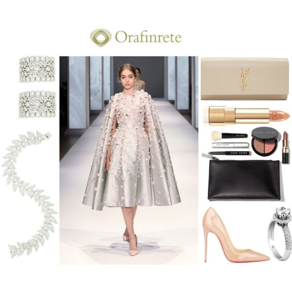Fairy Tale by orafinrete on Polyvore featuring moda, Christian Louboutin, Yves Saint Laurent, Bobbi Brown Cosmetics, Damiani, RALPH and Breil