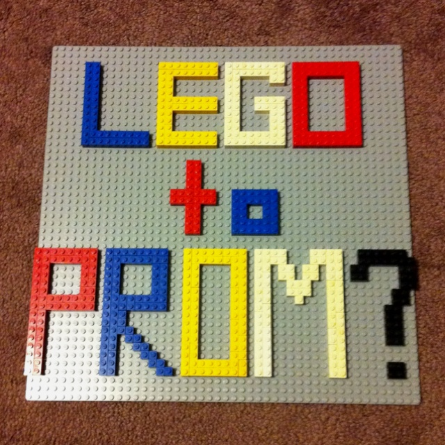 My brilliant way to ask someone to PROM! How could he have turned me down. Creative way to ask someone to a dance.