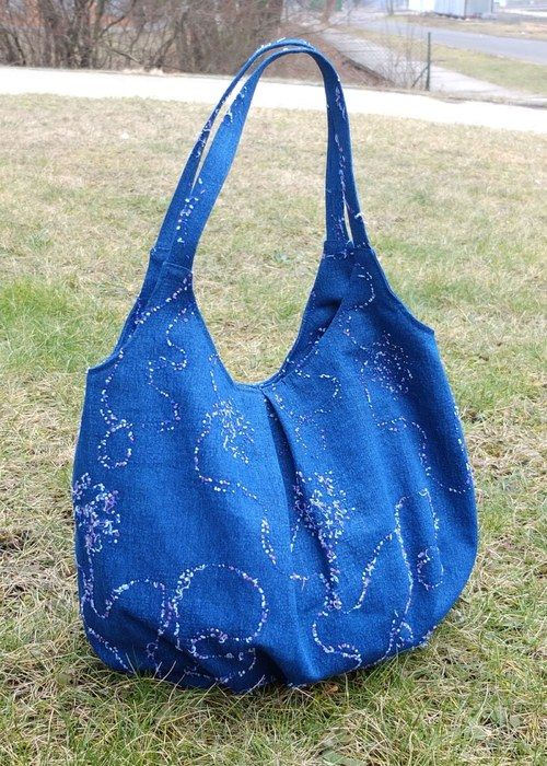 "Hobo Bag ""Blue Jeans\"""
