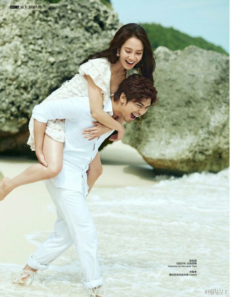 Song Ji Hyo and Chen Bolin starring in We Are In Love for Cosmobride