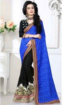 Black Color Georgette,Chiffon Casual Wear Saris Blouse | FH530680170 >>>>> Follow @heenastyle <<<<<<  #casualsarees #designerblouse #stunningblacksaree #sateensaree #sarees #casual #casualsarees #fashion #fashionwear #dailyfashion #style #dailystyle #ethnicwear #100sareepact #stylish #sari #satinborder #sareelove #printedblouse #sareeday #saris #Apparel #Black #heenastyle