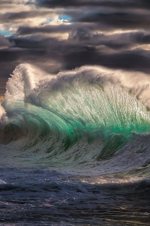 Best Waves Images On Pinterest The Wave Landscapes And Nature - Incredible photographs of crashing ocean waves by ben thouard