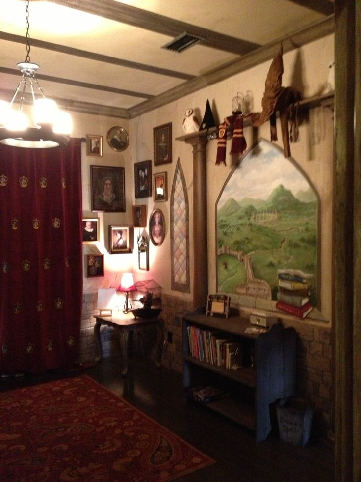 Les 10 meilleures images du tableau chambre sur pinterest for Chambre harry potter