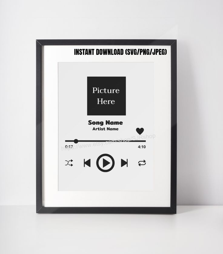 Music Player svg / Audio Control Buttons svg / Spotify svg
