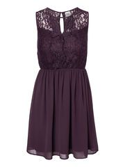 JOSEFINE LACE S/L DRESS, Plum Perfect, list