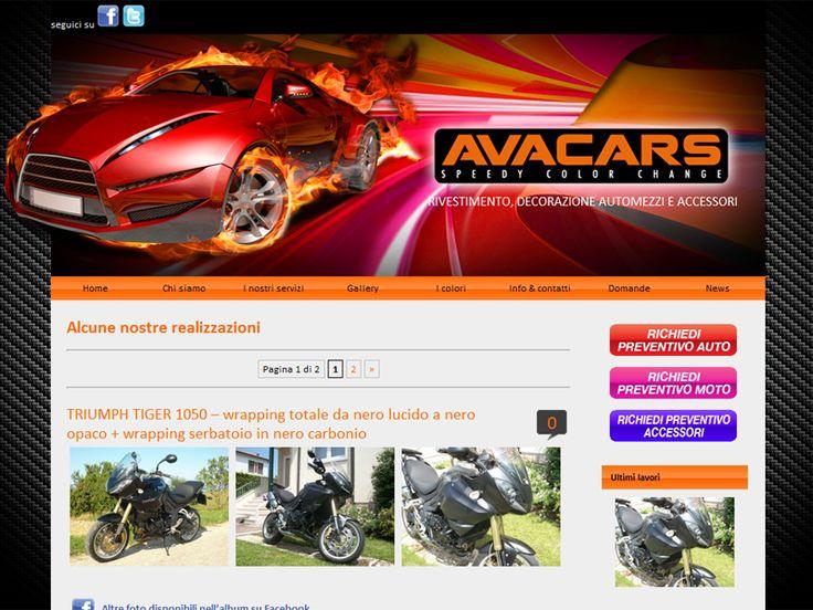 Website Avacars