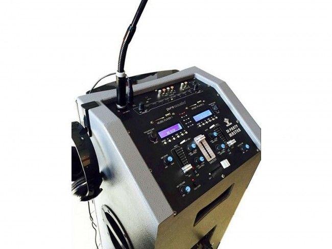Pure Acoustics DJ Party Master - Karaoke systemen - 123platenspeler.nl