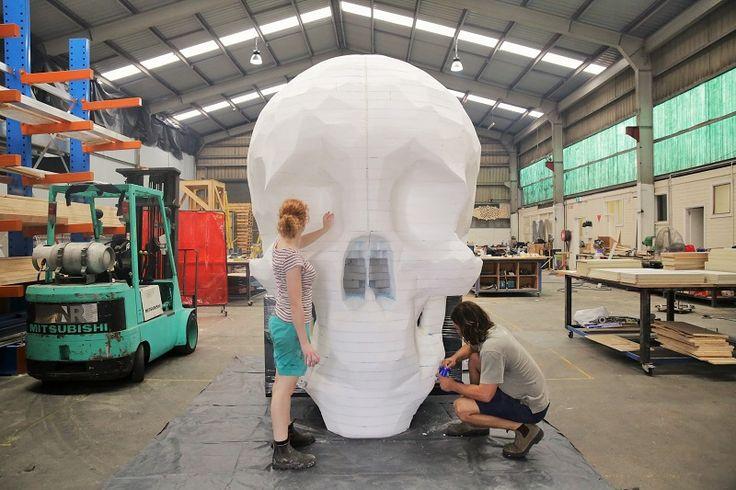 skull prop | MNR Constructions