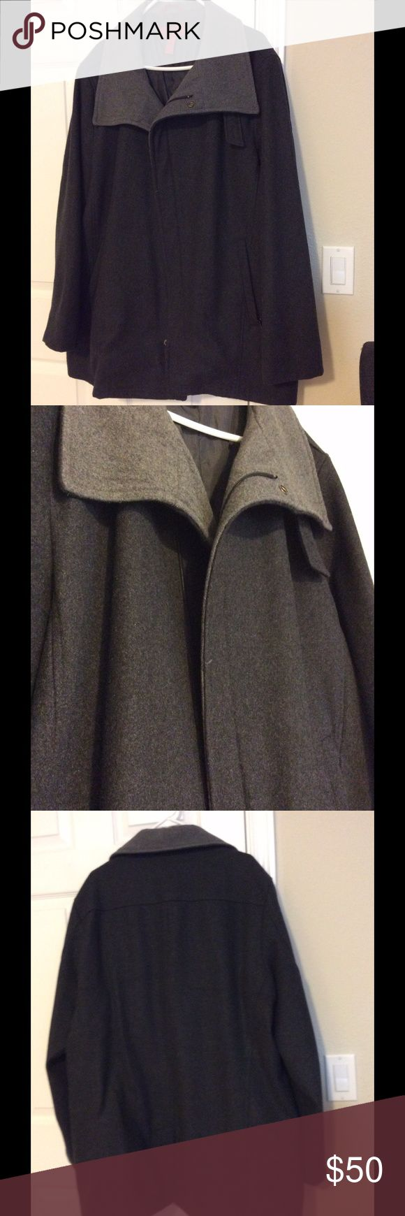 MOVING SALE!!! Alfani Men's Wool Coat Excellent condition Alfani Jackets & Coats Pea Coats