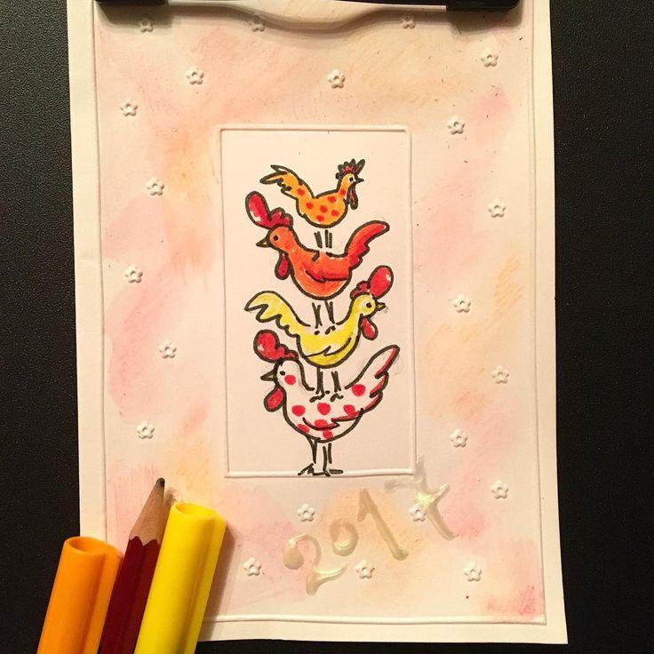 Привееет!! Ну вы как там? Все в предновогодней суете? А я вот отправила себя на карантин😞😰 чтобы совсем не разболеться. Но! Это не повод , чтобы раскисать как мартовский снеговик! Наконец - то нашлось  время для новогоднего творчества! Я обожаю делать открытки! А если время позволяет то и целые  поздравительные картинки! Персонально, со своим настроением и пожеланием) А вы любите получать рукописные открытки? Пишете любовные письма  или просто записки родным и дорогим оставляете на…