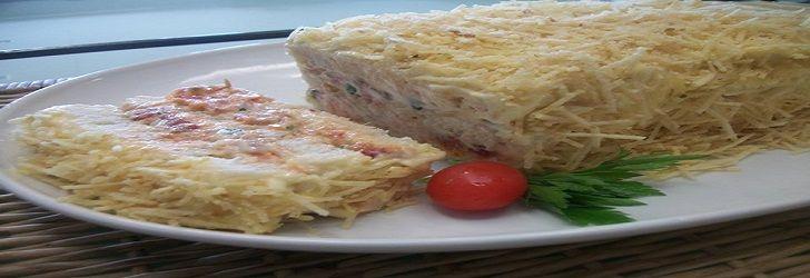 Aprenda a fazer Torta Salgada De Atum Fria! Acompanhe o passo-a-passo com fotos explicativas e aproveite para ver as outras receitas fáceis e rápidas...