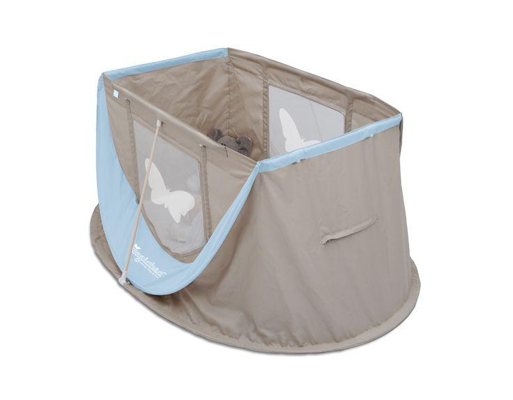 """MAGIC BED """"BLU"""" chiuso misura 60x60 cm e pesa 3,4 kg"""