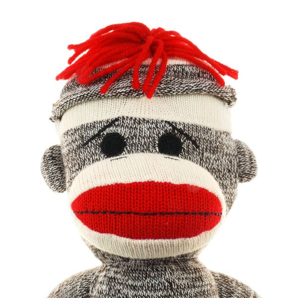 This Leads To A Link On Making The Original Sock Monkey