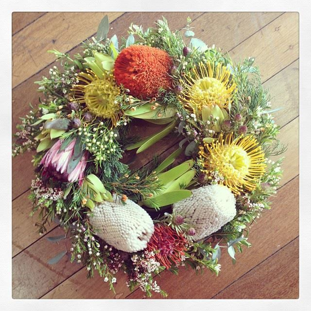 Australian Native Wreath..
