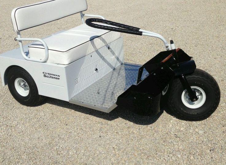 vintage 1964 1968 cushman golf cart vintage golf. Black Bedroom Furniture Sets. Home Design Ideas
