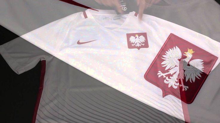 Poland Euro 2016 home jersey review https://youtu.be/E0907-uLkDs