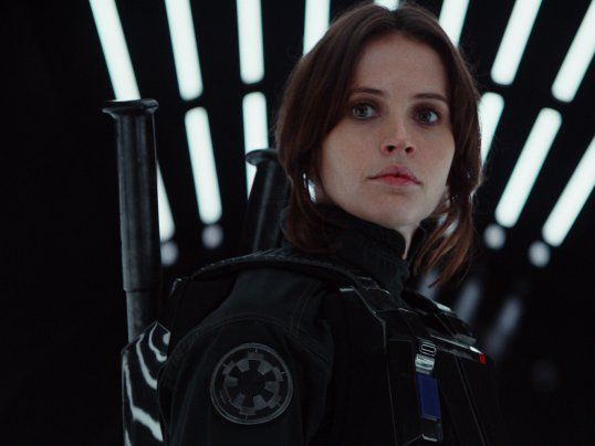 jyn rogue one - 6 Star Wars movies!