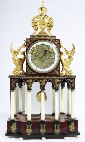 Austrian Empire automaton clock