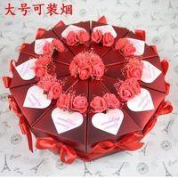 Большой size10pcs ( 1 компл. ) европейский свадьба ну вечеринку подарочной коробке свадьбы пользу коробка шоколада коробка печенья коробка торта аксессуары