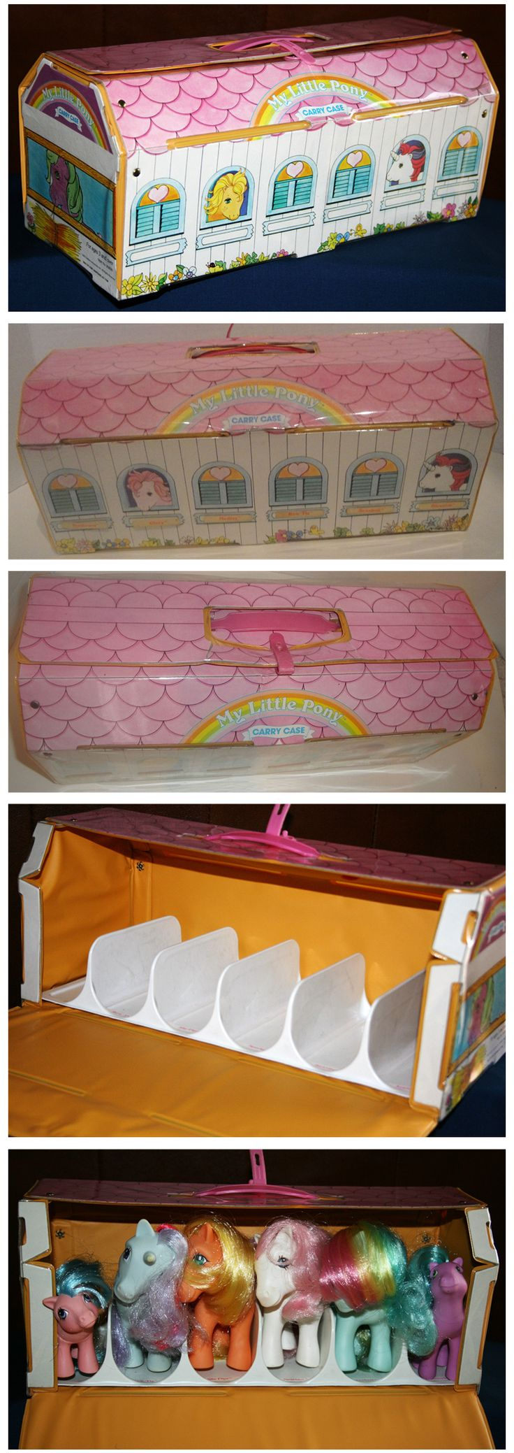 My Little Pony carrier case show stable ...
