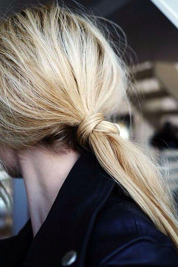 Wrapped base ponytail