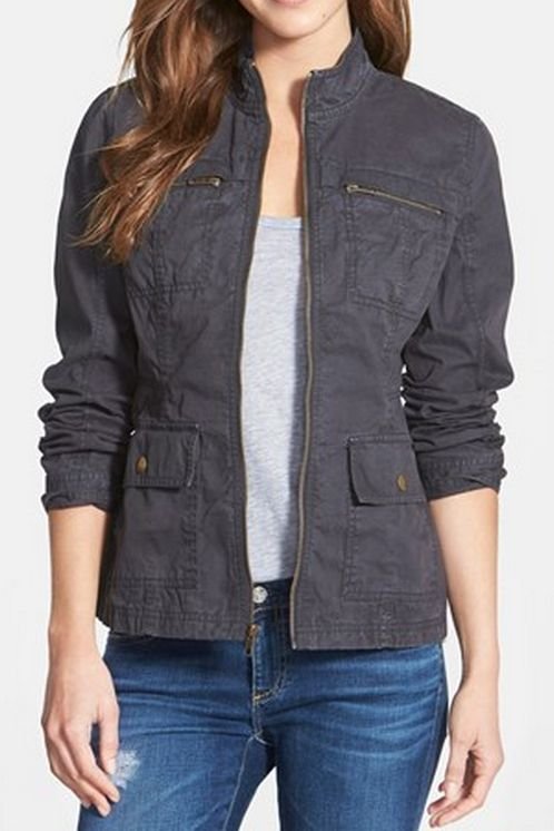 cotton twill utility jacket  http://rstyle.me/n/v33tspdpe